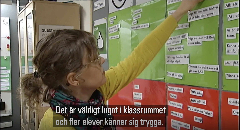 PAX i skolan i SVT Norrbotten